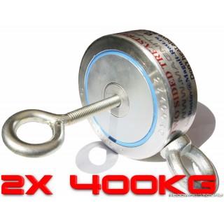2Ф400 Двухсторонний постоянный поисковый магнит неодимовый