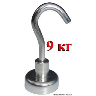Постоянный Неодимовый магнит Крюк, магнитный фиксатор E20мм, 9кг