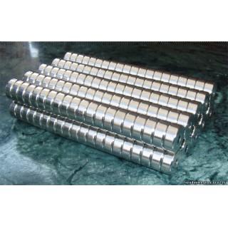 10х3х4мм Постоянный Мощный неодимовый магнит кольцо (1,7 кг.)