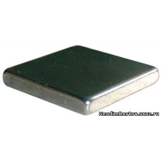 неодимовый магнит 20х20х3 мощный