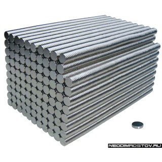 5х1мм Постоянный Неодимовый магнит N38 мощный
