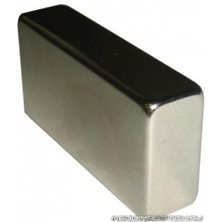 40х20х10 Неодимовый магнит прямоугольный (призма)